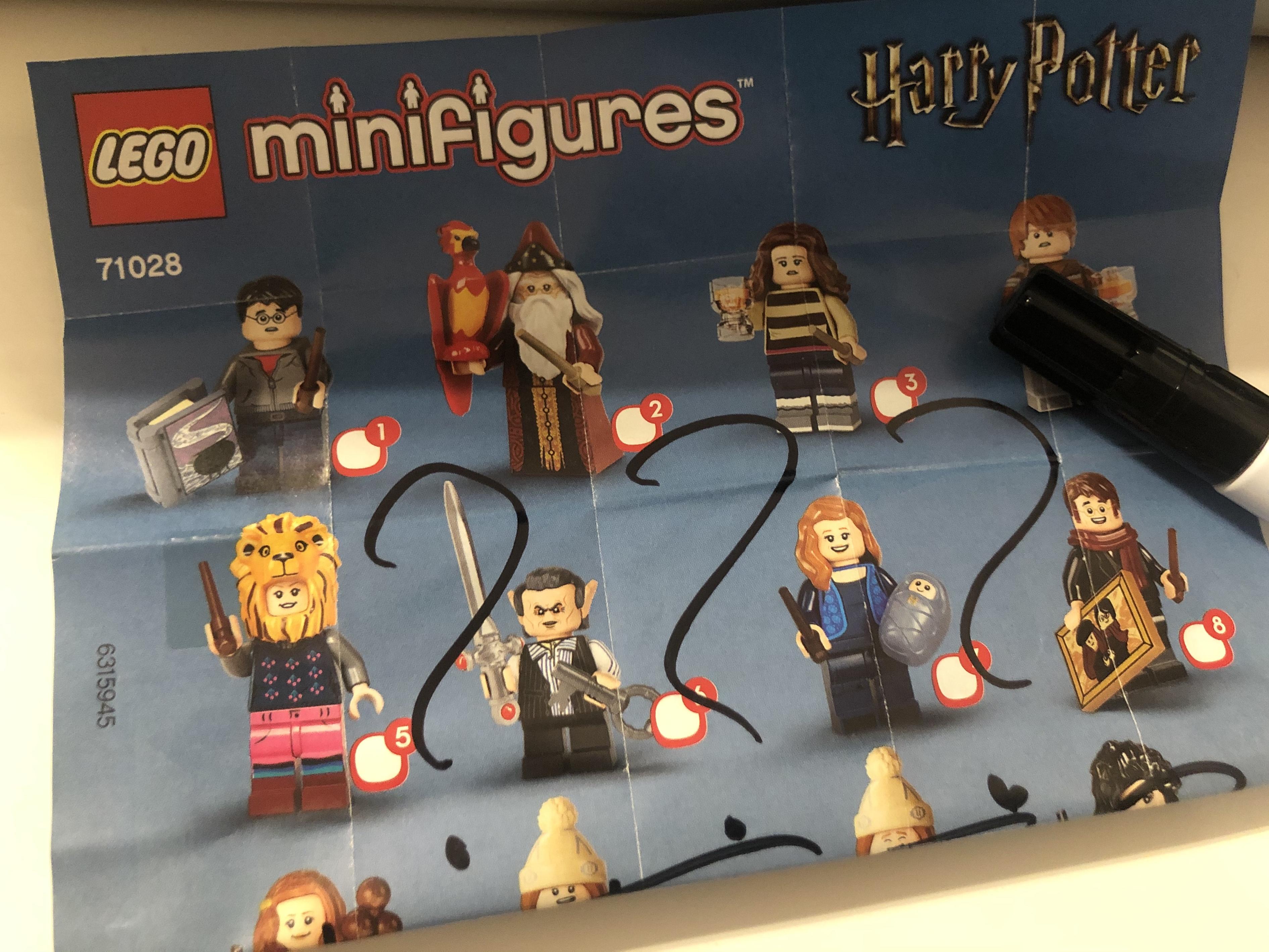 Die Boxverteilung Der Lego Harry Potter Minifiguren Serie 2 Der Spielwaren Investor Spielend Reale Rendite